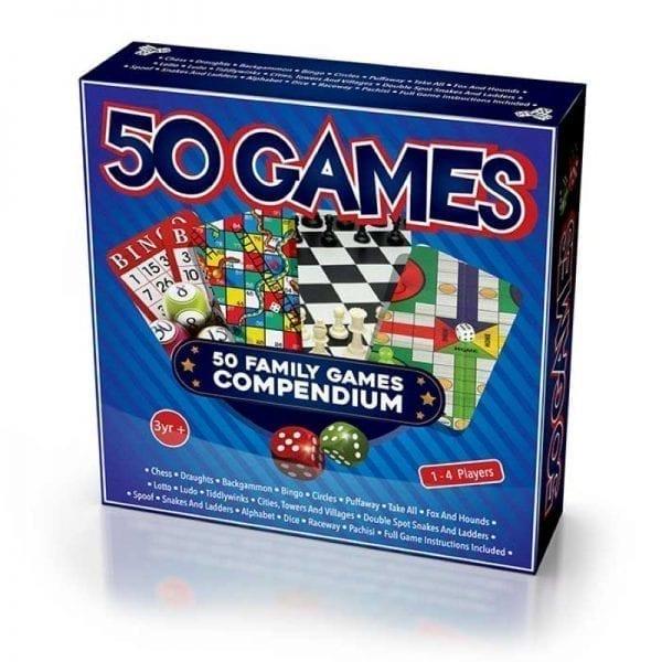 50 Family Game Compendium
