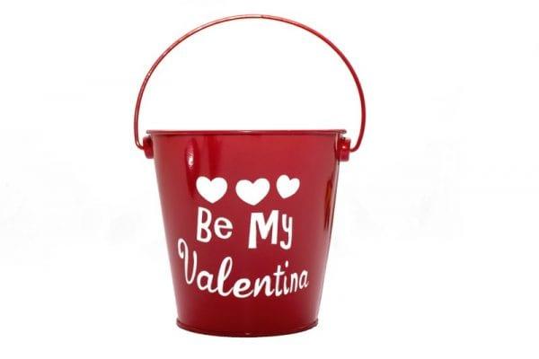 Be My Valentina Party Bucket