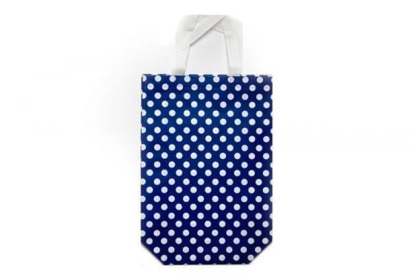 Blue Polka Dot Gift Bag