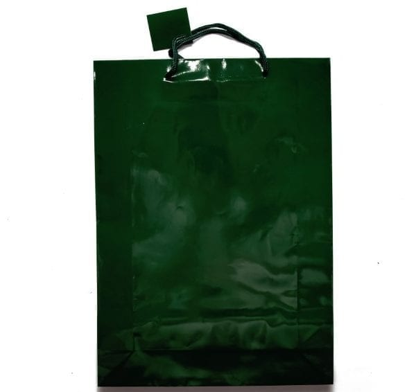 Dark Green Gift Bag