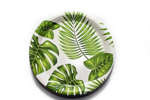 Leaf Paper Plate