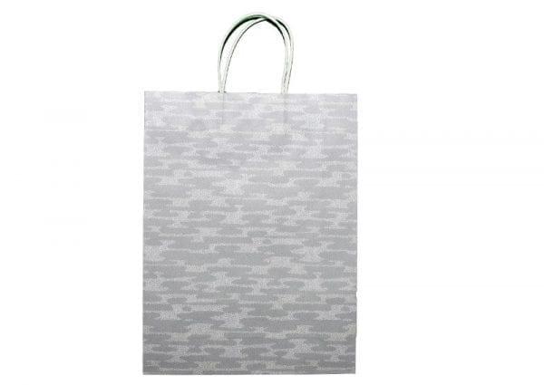 Grey Camo Gift Bag