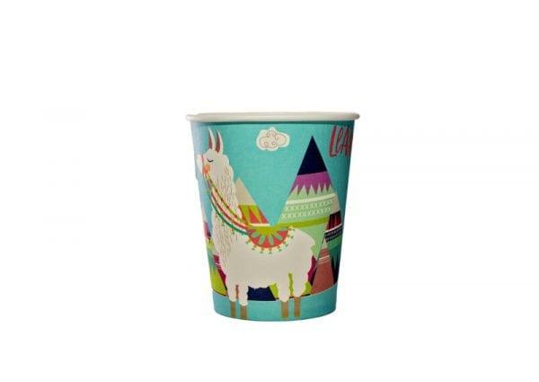 Llama Paper Cup