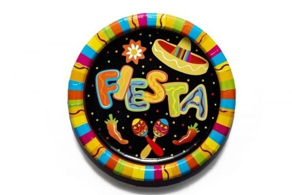 Mexican Fiesta Paper Plate