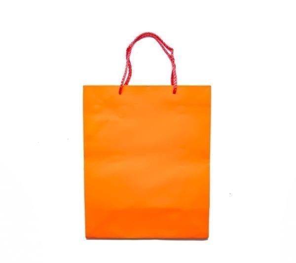 Orange Gift Bag