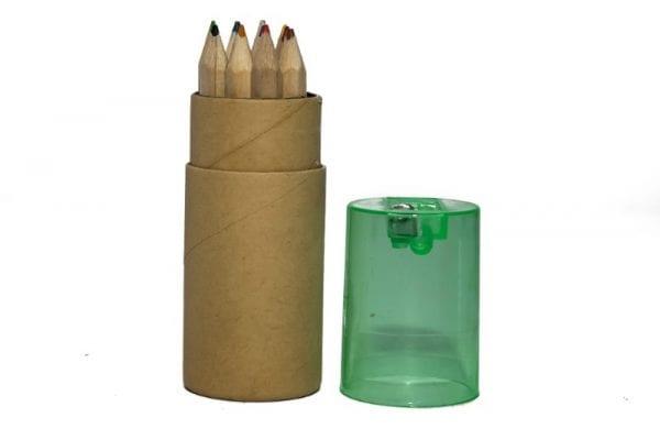 Organic Pencil Holder with Sharpener