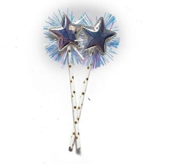 Sparkle Star Paper Straws