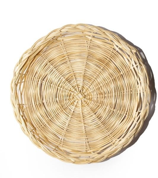 Wicker Basket Tray