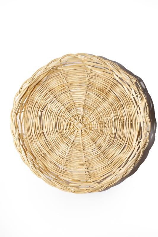Wicker Basket Tray
