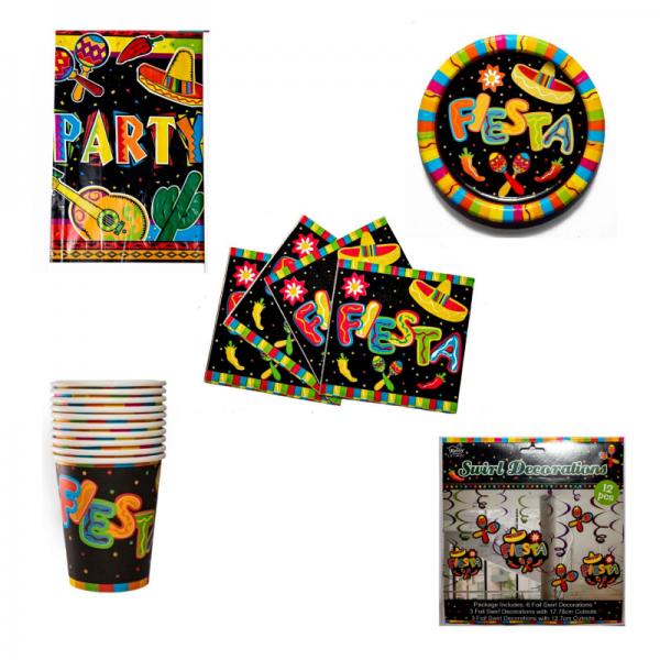 Fiesta Party Items (Custom)