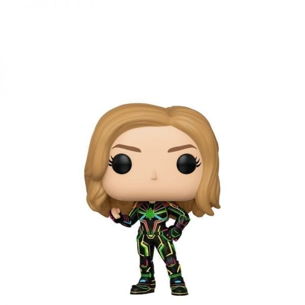 Funko POP! Captain Marvel with Neon Suit