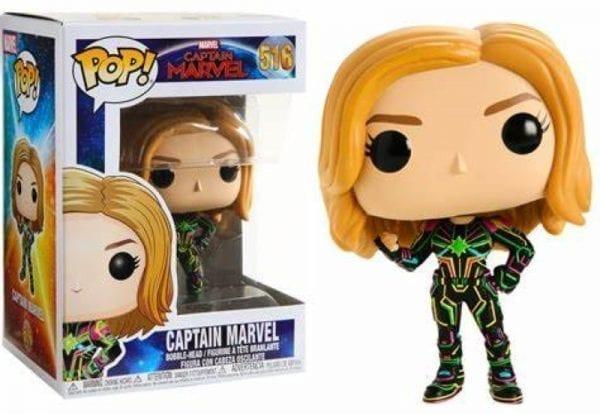 Funko POP! Captain Marvel with Neon Suit