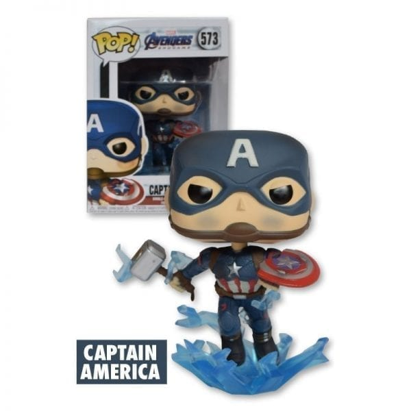Funko Pop! Marvel: Avengers Endgame - Captain America With Broken Shield