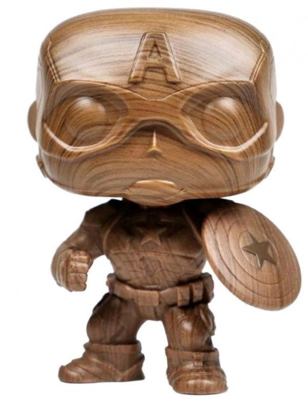 Funko Pop! Marvel: Captain America Wood Deco Funko Pop!