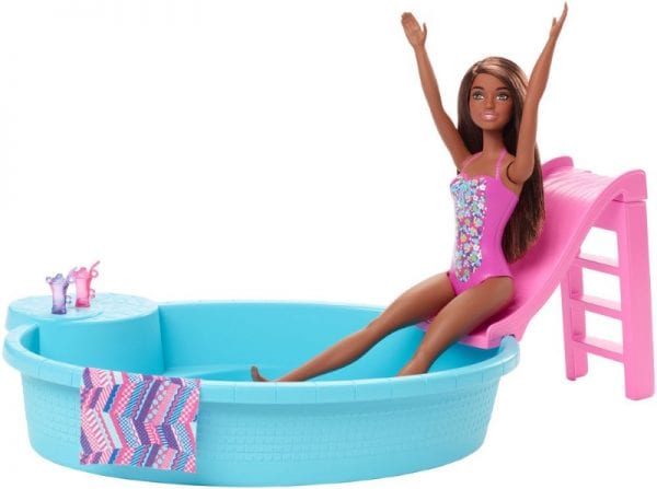 Barbie Pool and Doll Playset
