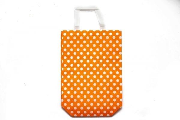 Orange Polka Dot Gift Bag