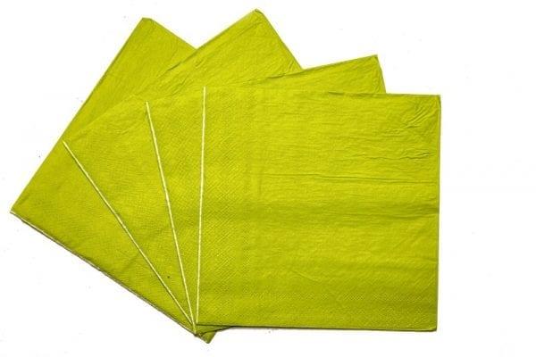 Yellow Serviettes