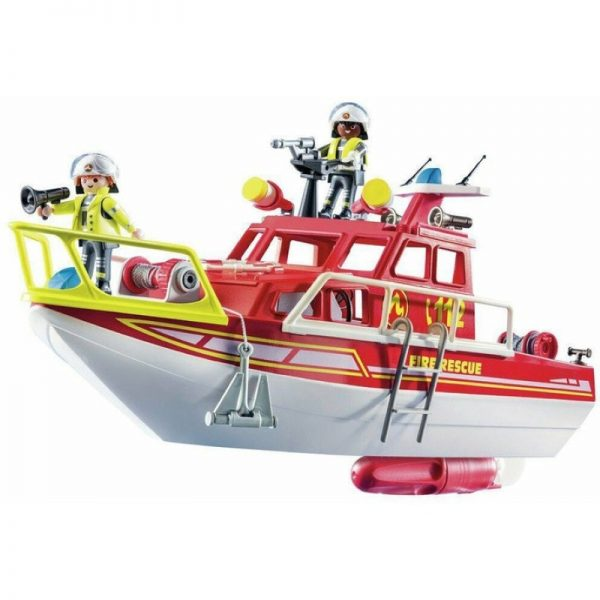 City Action - Fire Rescue Boat (Playmobil)