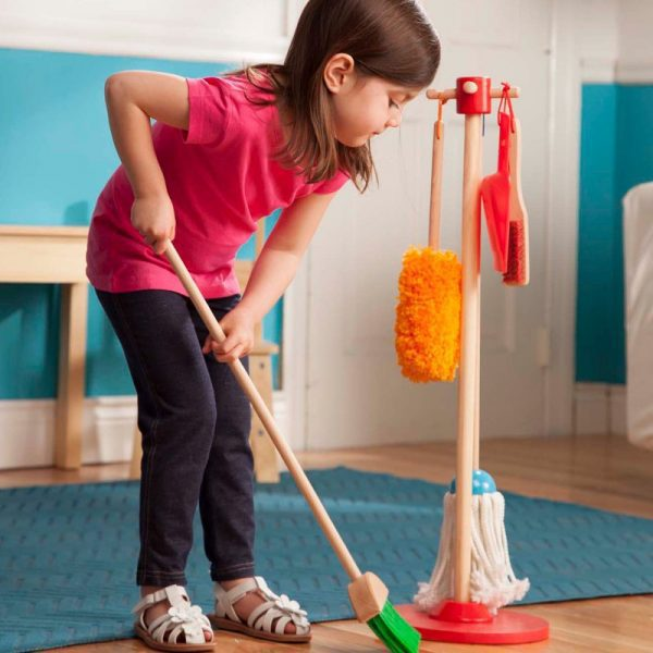 Let's Play House! Dust, Sweep, and Mop Set