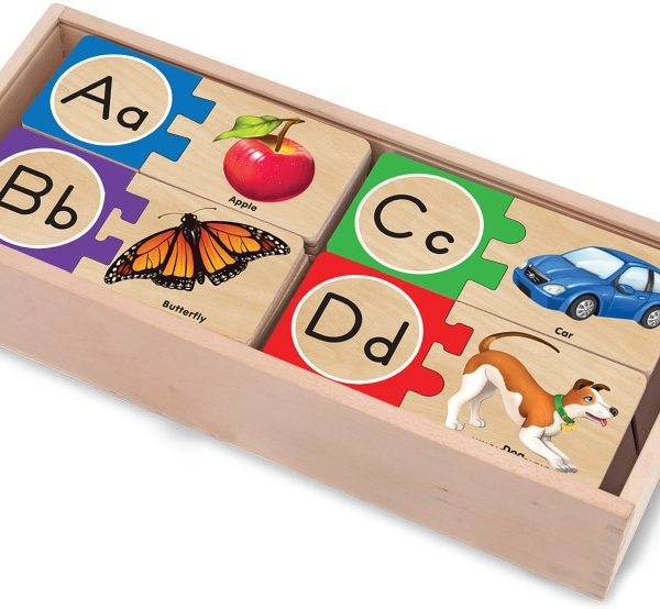 Melissa and Doug Self-Correcting Letter Puzzles