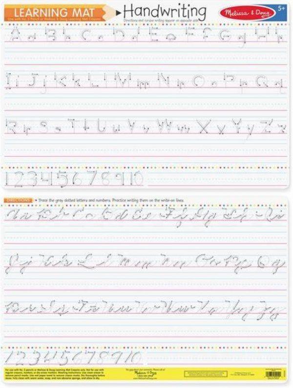Melissa and Doug Handwriting Write-A-Mat - Bundle of 6