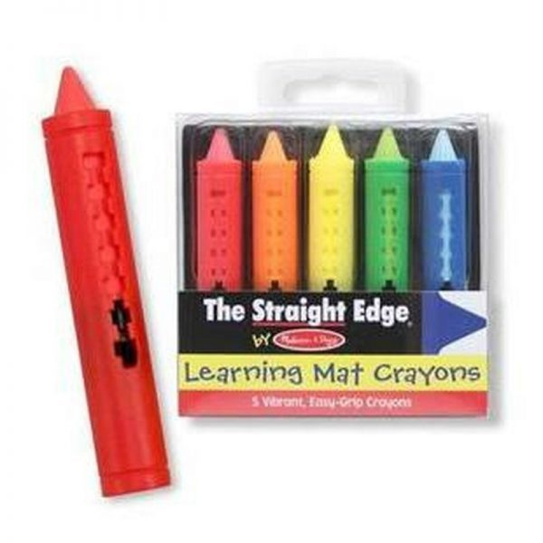 Melissa and Doug Learning Mat Crayons