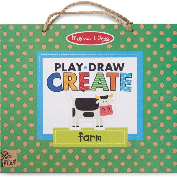 Melissa and Doug Play, Draw, Create - Farm Fun