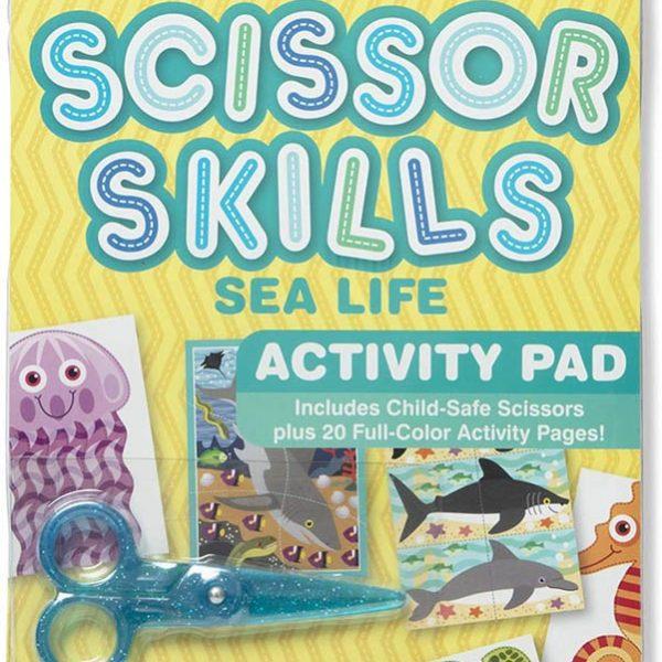 Melissa and Doug Scissor Skills Sea Life Activity Pad