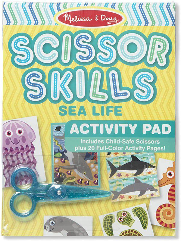 Melissa and Doug Scissor Skills Sea Life Activity Pad