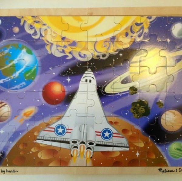 Space Voyage Puzzle (48 Pieces)