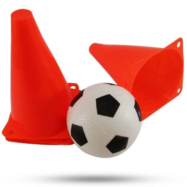 Soccer Cones and ball