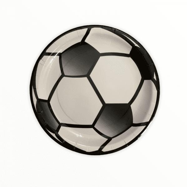 Soccer Paper Plate