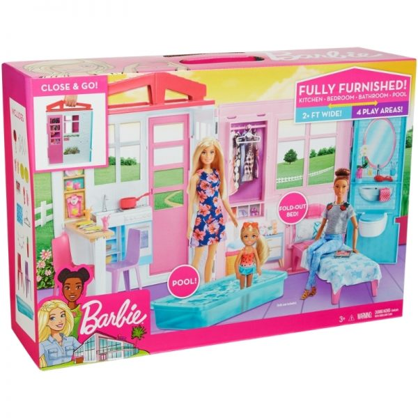 Barbie Fully Furnished Dollhouse_Picture 3