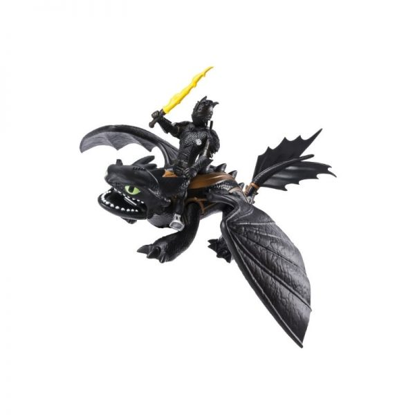 Dragon and Viking Figure - Hiccup and Toothless_Picture 3